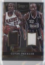 2014 Panini Select City to Jerseys #17 Clyde Drexler Portland Trail Blazers Card