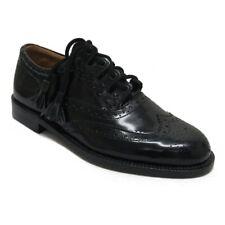 Thistle Brand Scottish Highland Leather Ghillie Brogue Kilt Shoes UK6 - UK14
