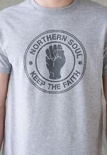 Northern Soul T Shirt Retro Vintage Mod 60s 70s Keep The Faith Fist Logo Tee Men