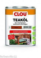 Clou Teak Öl Teaköl 750ml oder 2,5ltr