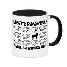 Taza Black Sheep-Lagotto romagnolo perro oveja acoso siviwonder