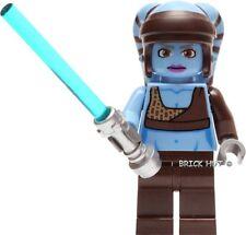 LEGO Figura De Star Wars-Aayla Secura + Regalo Gratis-Fast-RARE-Bestprice - Nuevo