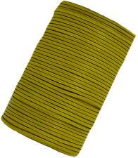 GIALLO Lacci Corda In Pelle 2 mm Round