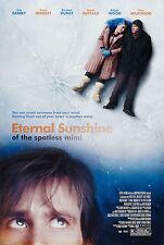 ETERNAL SUNSHINE OF THE SPOTLESS MIND Movie Poster Jim Carrey