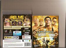 WWE LEGENDS OF WRESTLEMANIA PLAYSTATION 3 PS3 HOGAN