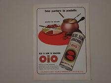 advertising Pubblicità 1971 OLIO DI SEMI OIO