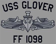 USN US Navy USS Glover FF-1098 Frigate T-Shirt