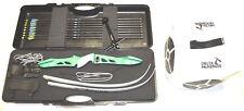 Bogenset Einsteigerset Recurve Bogen Core Jet green Bogen mit Koffer und Zubehör