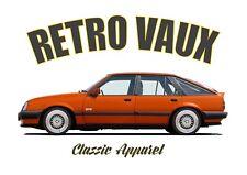 VAUXHALL CAVALIER MK2 SRI t-shirt. RETRO VAUX. CLASSIC CAR. MODIFIED. GM. OPEL.