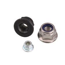 Tuerca de nailon tipo M12 tipo fino para insertar tuerca Nyloc Tipo A4 de acero inoxidable Tama/ño del paquete 5.