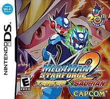 Mega Man Star Force 2 Zerker X Saurian, (DS)