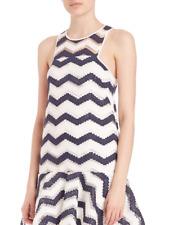 MILLY Jillian Chevron Jacquard Dress-Women's