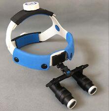 FD-501K 420mm 4.0x/5.0x/6.0x Head Band Binocular Loupe Dental Magnifying Glasses