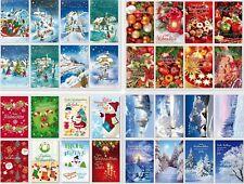 schöne Weihnachtskarten,Glückwunschkarten mit Umschlag, Blitzversand