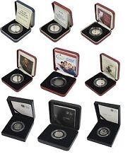 Prova Silver 50p 50 Pence scelta dell' anno ROYAL MINT BOX E COA