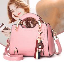 Women Faux Leather Handbag Shoulder Messenger Satchel Tote Crossbody Bags Purse
