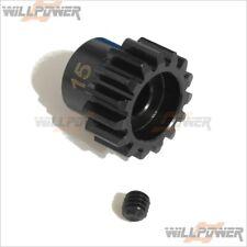 15T Pinion Gear 5mm #397-15 (RC-WillPower) HongNor LX-1 EP/NEXX8/SCRT-10