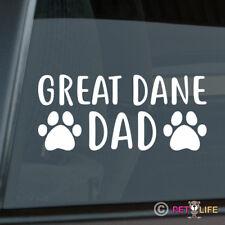 Great Dane Dad Sticker Die Cut Vinyl - german mastiff deutsche dogge dog