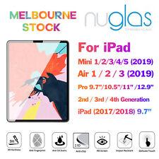 NUGLAS Screen Protector for iPad Mini Air 1 2 3 4 5 6 Pro 9.7 10.2 10.5 11 12.9