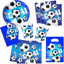 Fußball Goal Blau Kindergeburtstag Fußballparty Auswahl Deko Party Geburtstag