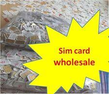 Lot 100 -1000 Nano or Micro sim cards Sprint Verizon AT&T T-mobile