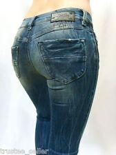 NWT Diesel Women Jeans LIVY 883I  Biker Skinny Divine Stretchy Vintage Blue