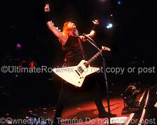 James Hetfield Photo Metallica 11x14 Inch Concert Photo by Marty Temme 1