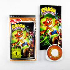 Playstation Portable - Psp Spiel Crash Herrscher der Mutanten in Ovp & Anleitung