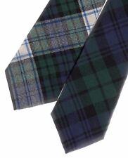 Tartan Tie Black Watch OR Pocket Square Scottish Wool Plaid