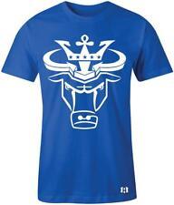 """""""Crown Bull"""" T-shirt to Match Retro """"Hyper Royal"""" 1's"""