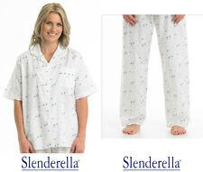 c51c2e1d6f334 Slenderella Femmes Qualité Premium,Courtes Manches Pyjamas,Pyjamas. Rose ou  Bleu