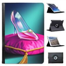 Cinderella's Glass Slipper at Midnight Ball Leather Case For iPad Mini & Retina