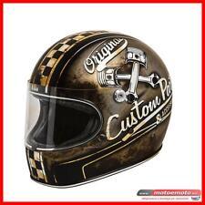 Casco Moto Vintage Integrale Fibra Premier Trophy OP 9 BM Custom Opaco Classic