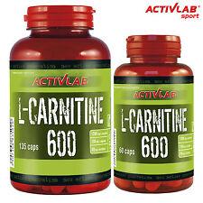L-Carnitine 600 60-270 Capsules Turn Fat Into Energy Fat Burner Slimming Pills