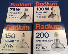 Radium Reflector Parabólico Lámparas R95 E27 75W 100W 150W 200W 35°