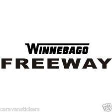WINNEBAGO Freeway Name Sticker Decal Graphic - SINGLE