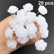 Colorful Wholesale Wedding Bridal Pearl Flower Crystal Diamond Hair Pins Clips