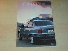 17525) Opel Astra Prospekt 1989