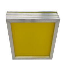 USA 6pcs Aluminum Silk Screen Frame 200 / 305 Yellow Mesh 23