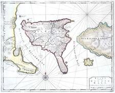 Reproduction carte ancienne - Bali (Indonésie) en 1725 (Indonesia)