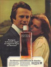 PUBLICITE  1968   PANTENE  soin des cheveux