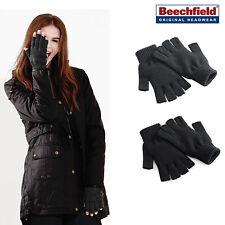 Fingerless Gloves - warm winter accessory for men/women - Use phone/tablet B491