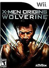 X-Men Origins: Wolverine (Nintendo Wii, 2009) MINT