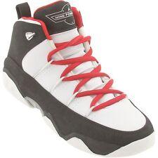 $89.99 314378-163 Nike Big Kids Air Jordan Team 9.5 white varsity red black