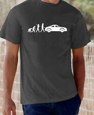 Evolution of Man, Audi TT  t-shirt