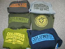 COLUMBIA Men's Leka Hills,Slope,or Peak Hoodie, 94%polyester,6%Elastane,NWT
