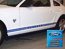Ford Mustang Rocker Panel Door Side Stripes Decals - RC