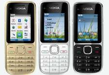 NOKIA C2-01 TASTEN-HANDY QUAD-BAND MOBILE PHONE BLUETOOTH KAMERA MP3 WIE NEU BOX