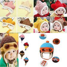 Kindermütze Beanie Mütze mit Fell gestrickt Hat Warme Mütze Kidshat Wintermütze
