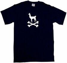 Llama Silhouette Logo Pirate Skull Cross Bones Mens Tee Shirt Pick